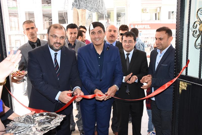 Nusaybin'de Alüminyum Rolyef sergisi açıldı