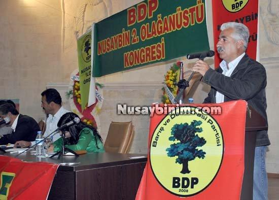 Nusaybin BDP 2. Olağanüstü kongresi yapıldı, yeni başkan Şehabettin Güler oldu