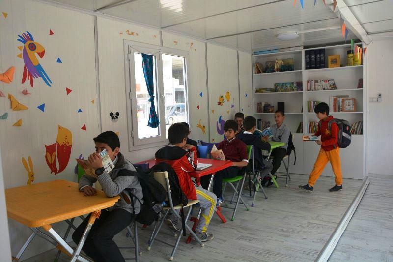 Nusaybinli çocuklar sanat öğreniyor