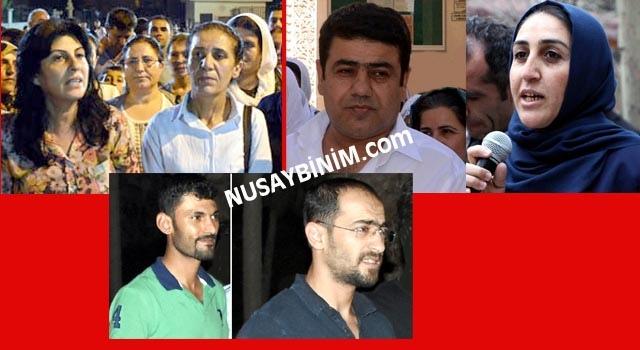 Başkan Kaya ve beraberindekiler mahkeme için Mardin'e getiriliyor