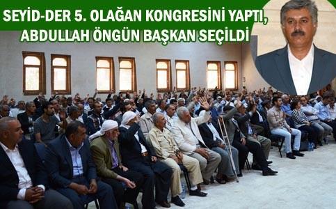 Nusaybin Seyit-der 5. Olağan Kongresini yaptı
