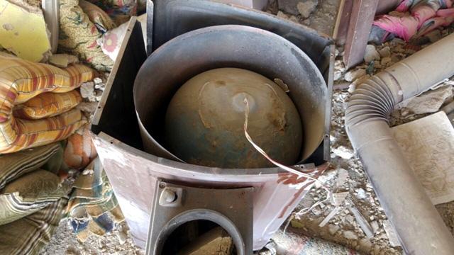 Nusaybin'de soba içerisinde tuzaklı bomba imha edildi