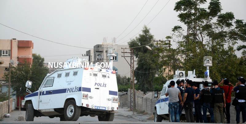 Nusaybin'de Suruç saldırısı protesto edildi