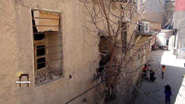 Nusaybin'de tarihi konutta yıkılma tehlikesi