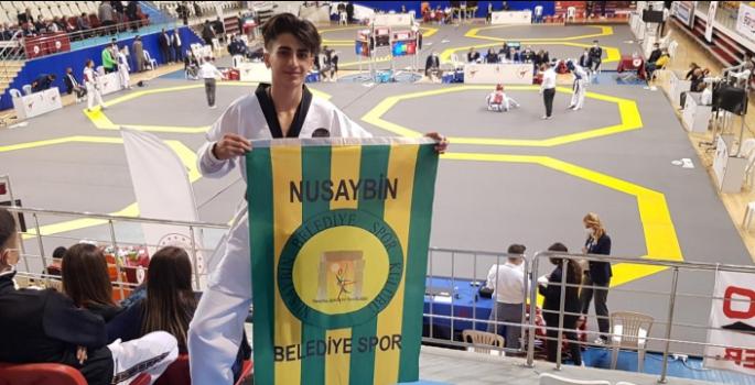 Tarihte ilk defa Nusaybinli bir sporcu Taekwondo Milli Takım seçmelerine davet edidi