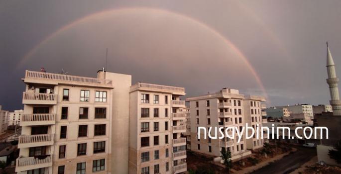 Nusaybin'de Temmuz yağmuru