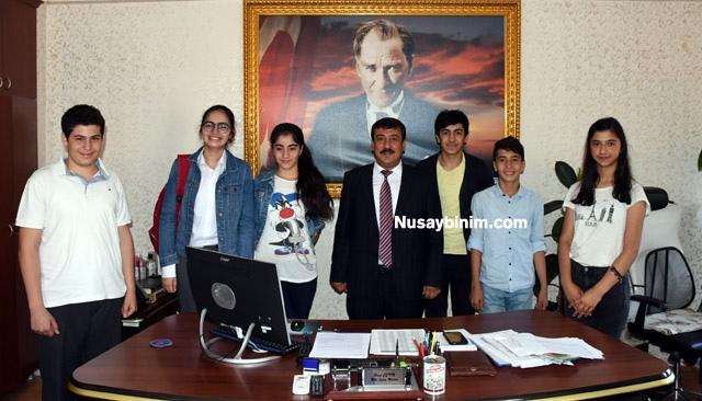 Nusaybin tarihinde bir ilk, TEOG'da 6 birinci