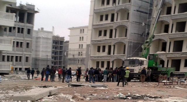 Nusaybin'de işçiler kavga etti, 1 yaralı
