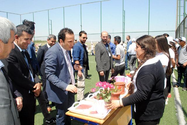 Nusaybin Anadolu Lisesi Tübitak Bilim Fuarı açtı