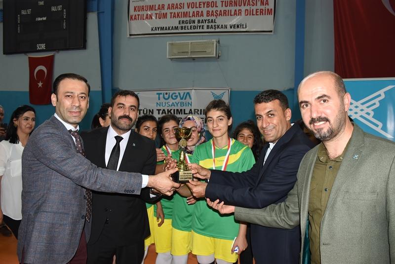 Tügva turnuvası şampiyonlarına altın