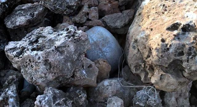 Nusaybin'de bulunan bomba imha edildi