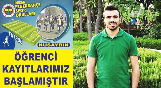 Nusaybin'de Fenerbahçe Futbol Okulu açıldı