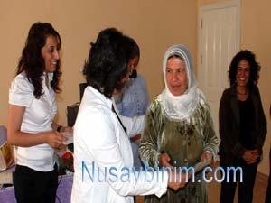 Nusaybin Gülşilav Kadın Evi'nde Mezuniyet Sevinci