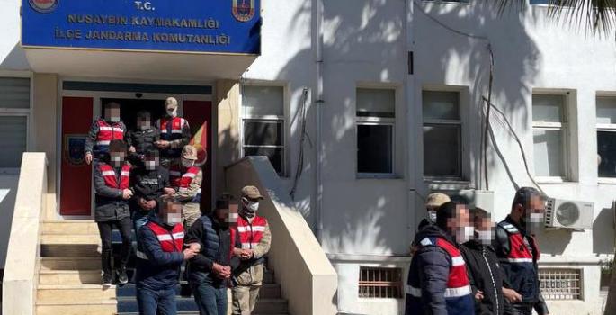 Uyuşturucu operasyonunda 8 kişi gözaltına alındı