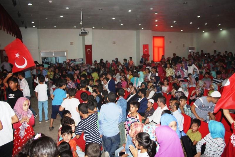 Yaz Kur'an kursu kapanış programı düzenlendi
