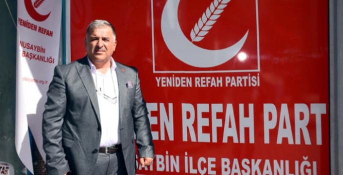Yeniden Refah Partisi Başkanı Kardaş'tan Bayram mesajı