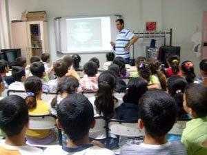 """İlköğretim okullarında """"Nusaybin Tarihi ve Kültürü"""" semineri verildi"""