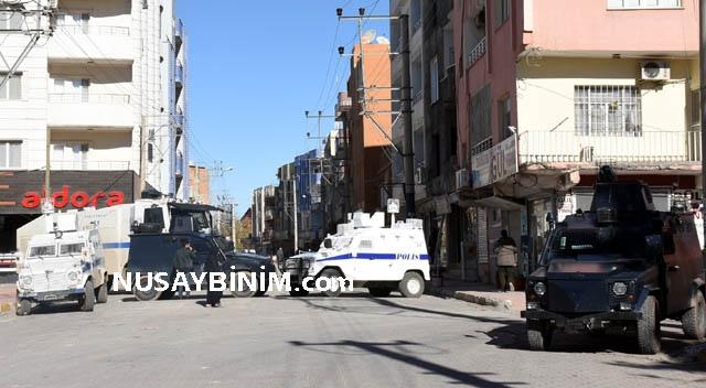 Nusaybin'de Çağ çağ caddesi ulaşıma açılmadı