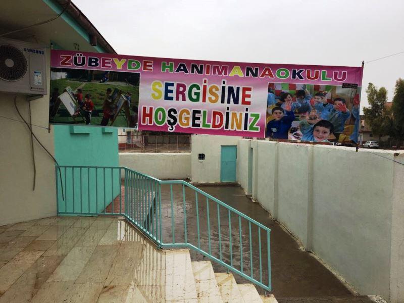 Zübeyde Hanım Anaokulu sergisi