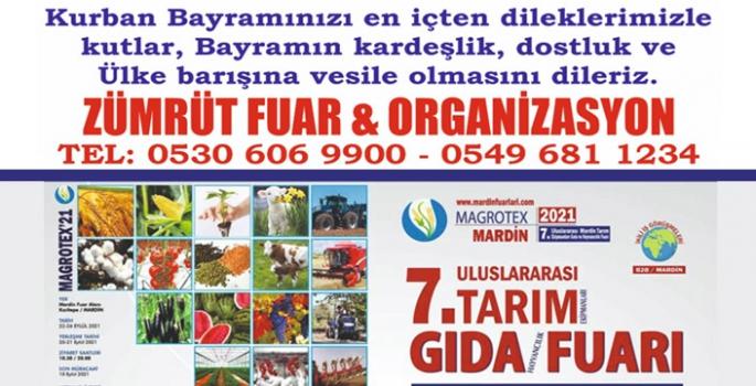 Zümrüt Fuar & Organizasyon'dan Kurban Bayramı Kutlama mesajı