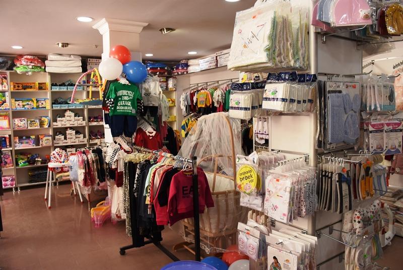 Zuzum baby çocuk ve bebek ürünleri mağazası açıldı