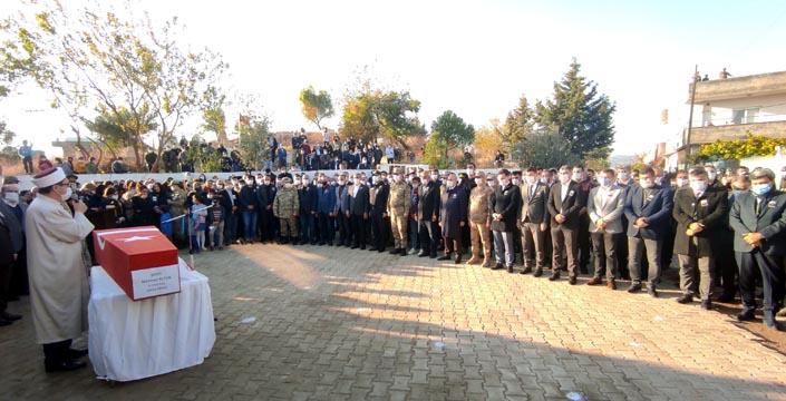 Afrin'de şehit olan Nusaybinli asker son yolculuğuna uğurlandı