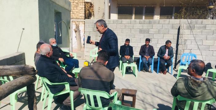 AK Parti Nusaybin teşkilatından Omeryan Bölgesine ziyaret