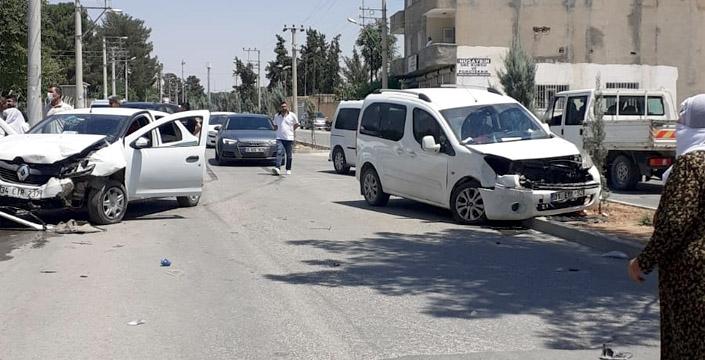 Çağ çağ Caddesinde kaza, 1 yaralı