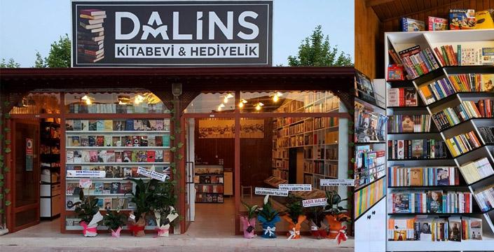 Dalins Kitabevi ve Hediyelik eşya mağazası açıldı
