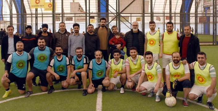Eğitim Sen'in 14. Geleneksel Futbol Turnuvası başladı