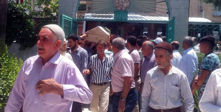 İbrahim Layık'ın cenazesi Nusaybin'de toprağa verildi