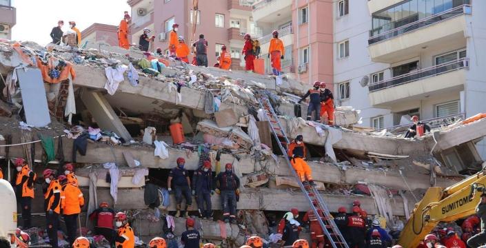 İzmir için Nusaybin'de yardım kampanyası
