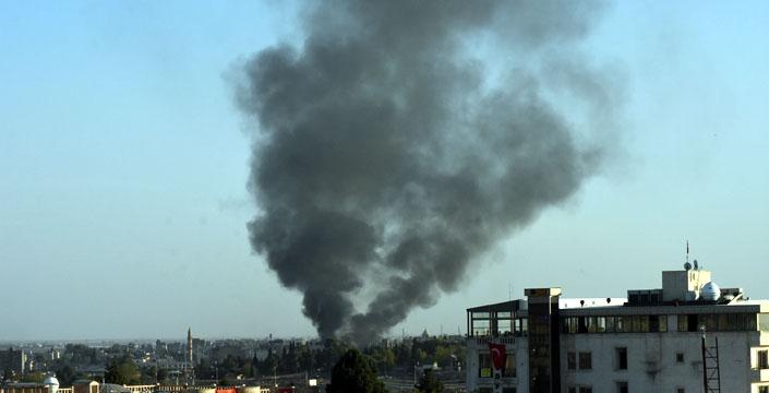 Kamışlı kent merkezinde bomba yüklü araç infilak etti