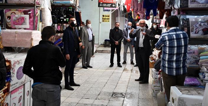 Kılıçdaroğlu'nun Başdanışmanı Eken, Nusaybin'i ziyaret etti