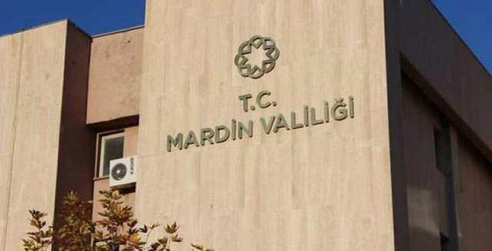 Mardin'de tüm gösteri ve yürüyüşler bir ay boyunca yasaklandı