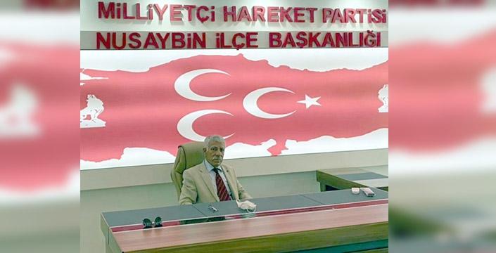 MHP İlçe Başkanından Bayram mesajı