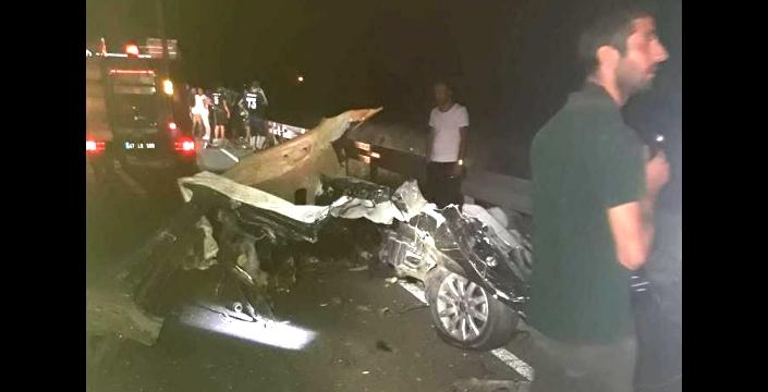 Midyat - Dargeçit yolunda kaza, 6 kişi hayatını kaybetti