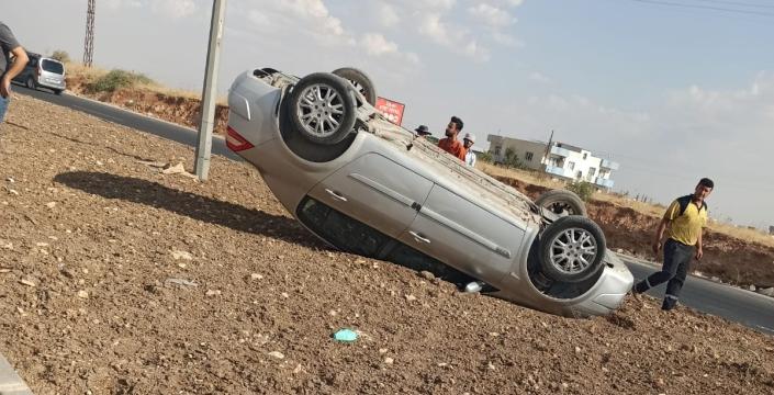 Emniyet kemeri sürücünün hayatını kurtardı