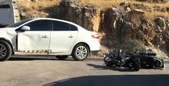 Nusaybin'de iki ayrı trafik kazasında, 2 yaralı