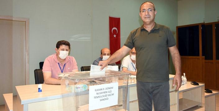 Nusaybin'de İlksan temsilciliğini Habip Çevik kazandı