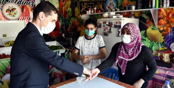 Nusaybin'de Koronavirüs Denetimleri Yapıldı