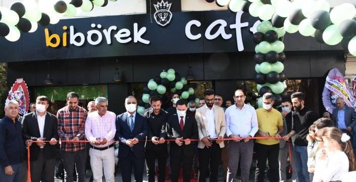 Nusaybin'de kurulan bibörek cafenin açılışı yapıldı