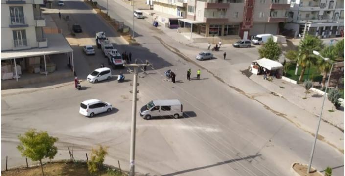 Nusaybin'de otomobil ile motosiklet kazasında 1 kişi yaralandı