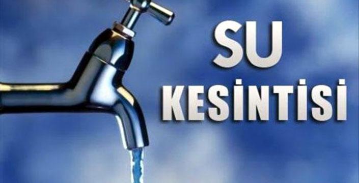 Nusaybin'de Salı günü su kesintisi olacak