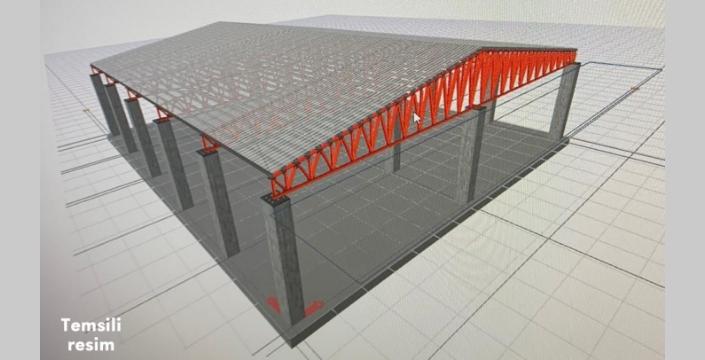 Nusaybin'e Kapalı Semt Pazarı inşa edilecek