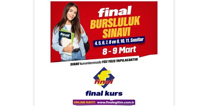 Final Anadolu Lisesi Bursluk Sınavı başvuruları başladı