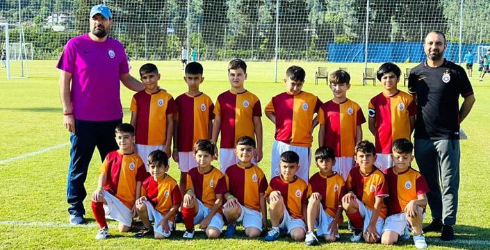 Nusaybin GS Okulu Antalya Cup Alt Yapı Turnuvasına katıldı
