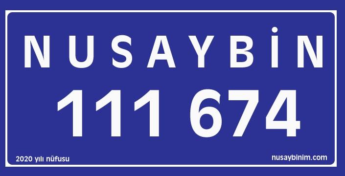 Nusaybin'in Nüfusu 111 bin 674 oldu