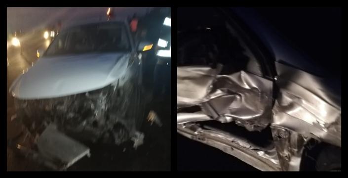 İpek yolunda kaza, 5 hafif yaralı