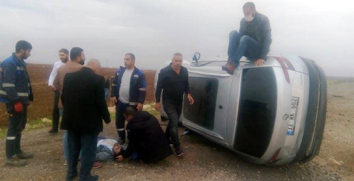 Nusaybin İpek Yolunda trafik kazası, 2 yaralı